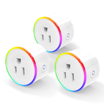 Universal Wifi Smart Socket Plug Smart Life App Outlet Works With Alexa Google Home Mini IFTTT